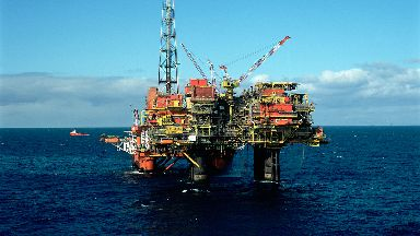 Brent Charlie Shell oil platform stock/generic image from Shell