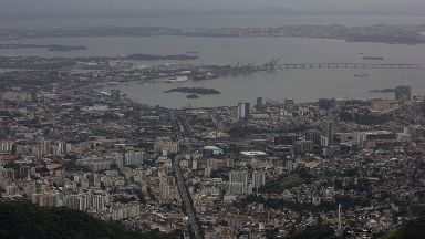 A British family were shot at outside of Rio de Janeiro.