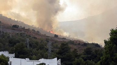 Firefighters investigated over spate of arson fires in Sicily