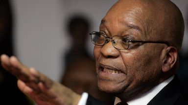 President Jacob Zuma faces a no-confidence motion vote on Tuesday.