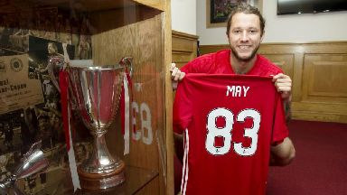 Stevie May explains why he agreed to No.83 jersey switch