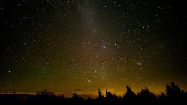 The Perseid meteor shower comes round every August