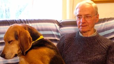Peter Wrighton was killed in woodland while walking his dogs.