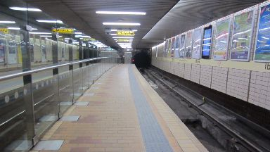 Ibrox: Patrol are to take place within the subway station in Glasgow. Ibrox subway station