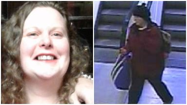 Missin woman Fiona McMaster, Edinburgh. CCTV shows her at Edinburgh bus station