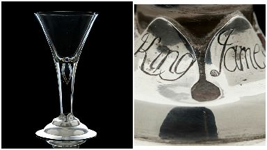 Glass which Bonnie Prince Charlie drunk from, sold for £25,000 at auction