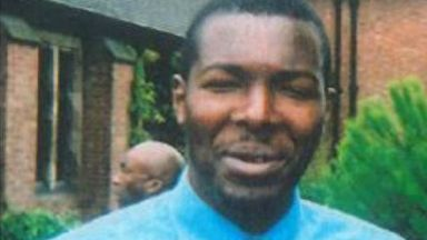 Melvin James, who killed sister after being discharged from Royal Edinburgh Infirmary.