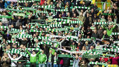 Celtic fans 2017