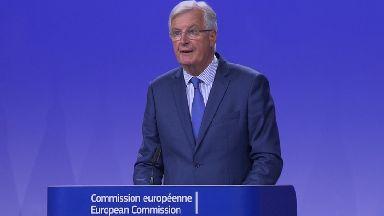 European Commission chief Brexit negotiator Michel Barnier.