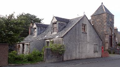Derelict former home in Stornoway, Lewis, which will be converted into mosque