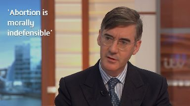 Jacob Rees-Mogg 'completely opposed' to abortion - even if the woman is raped