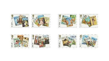 Royal Mail Ladybird stamps