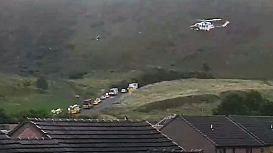Rescue after man falls from Arthur's Seat in Edinburgh on 16/9/17