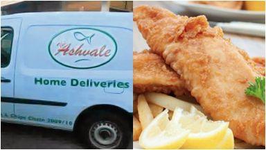 Ashvale: Fish suppers in the van when stolen. Aberdeen