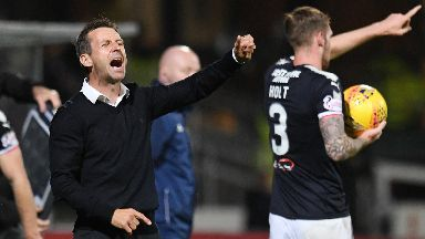 No complaints: McCann said Celtic deserved their win.