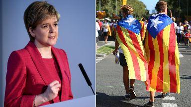 Nicola Sturgeon Catalonia
