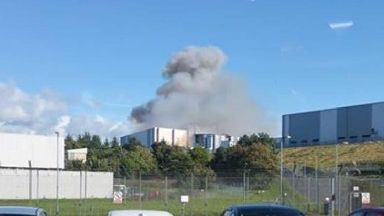 Explosion and fire at power station near Hunterston Nuclear Power Station on 21/9/17