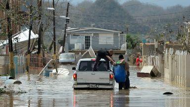 Hurricane Maria has wrought devastation to Puerto Rico.