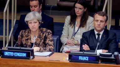 Theresa May's Brexit speech failed to convince Emmanuel Macron.
