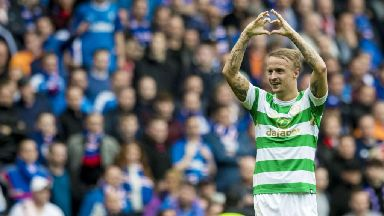 Leigh Griffiths: Rangers fans like to pipe up a bit