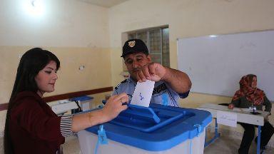 Kurds vote