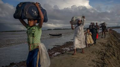 More than 500,000 Rohingya have fled to Bangladesh