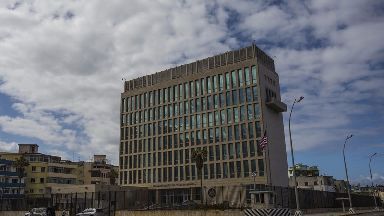 Staff from the US embassy have been told to leave Cuba.