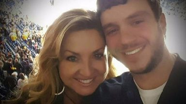 Sonny Melton with wife Heather.