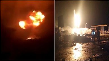 Several killed in Ghana capital gas explosions