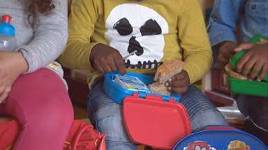 Still from child obesity investigation in Amsterdam.