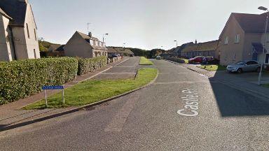 Castle Road in Cruden Bay, near Peterhead. Body of 24yo man found, unexplained sudden death.