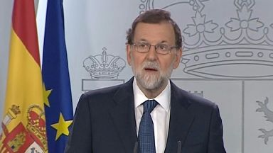 Spanish PM Mariano Rajoy demanded answers from Catalonia's leader.
