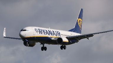 Ryanair: Company apologised for delay.