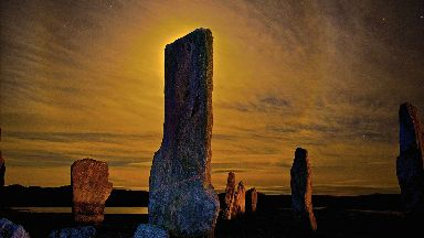 Callanish stones by Chris Murray for Scotland from the roadside