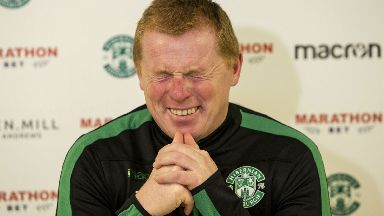 "Neil Lennon says he's ""too young and too handsome"" for the Scotland job."