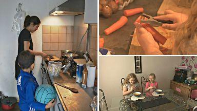 Asma el Morabit, Amelia Lindsay healthy eating cooking project in Amsterdam and Ayrshire