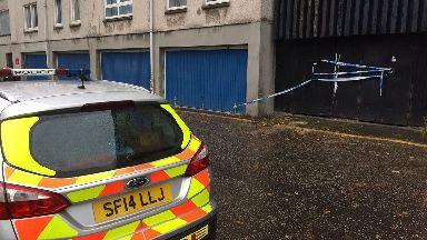 Police at Dumbiedykes in Edinburgh