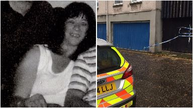Moira Gilbertson, 57, who was found dead at a flat on Dumbiedykes Road, Edinburgh.