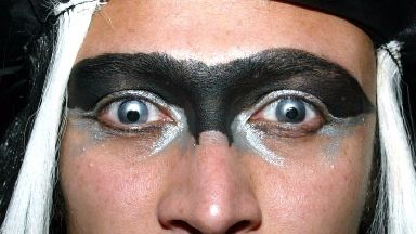 Some coloured lenses are sold illegally online.