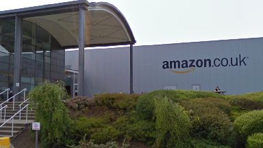 Amazon: Suspicious package being examined. Amazon Gourock