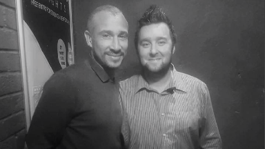 Henrik Larsson at Fury's