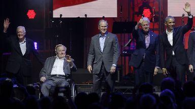 Five former presidents