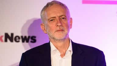Mr Corbyn was visiting Norwich with shadow chancellor John McDonnell