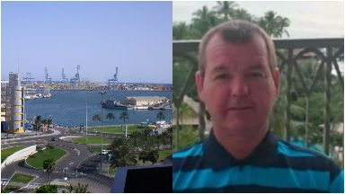 Colin Gillespie: He was pronounced dead at Luz port. Stena Drilling Aberdeen Dundee