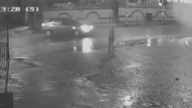 Police release 'distressing' CCTV footage in search for Birmingham hit and run driver