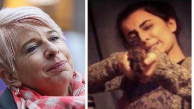 Madihah Taheer said it was her dream to behead Katie Hopkins (left).