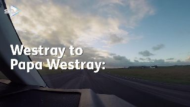 Papa Westray Flight
