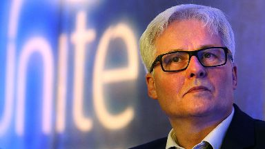 Unite boss Pat Rafferty said the union has not broken any rules.
