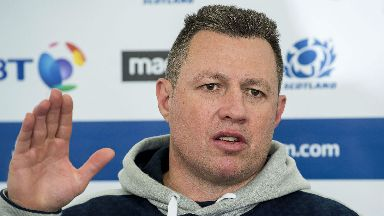 Matt Taylor, Scotland rugby coach, October 2017