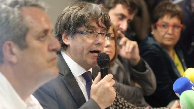 Carles Puigdemont has not said when he will return to Catalonia.